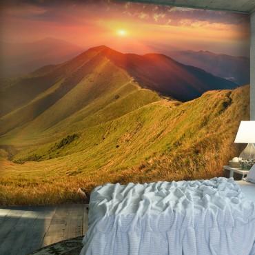Fotomural - Hermoso paisaje...
