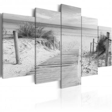 Cuadro - Mañana en la playa...