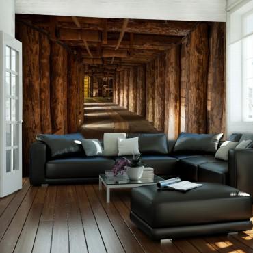 Fotomural - Wooden passage