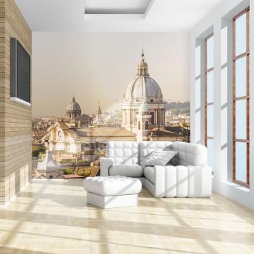 Fotomural - Roma y vista de...