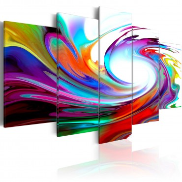 Cuadro - Rainbow - swirl