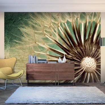 Fotomural - Focus on dandelion