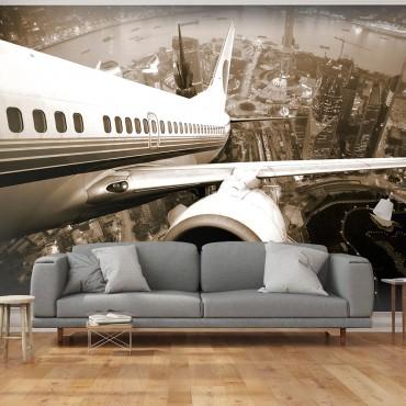 Fotomural - Un avión...