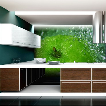 Fotomural - Una manzana verde
