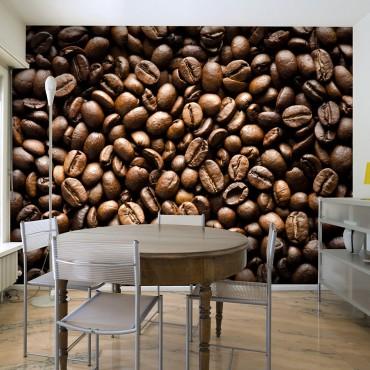 Fotomural - Roasted coffee...