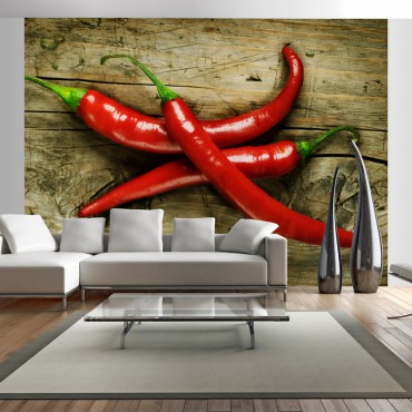 Fotomural - Spicy chili...