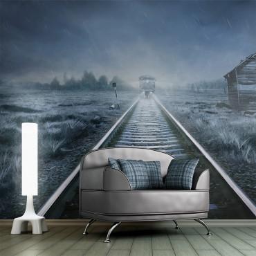 Fotomural - El tren fantasma