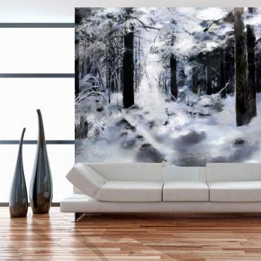 Fotomural - Bosque invernal