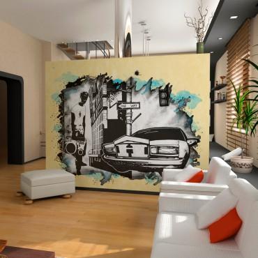 Fotomural - Urban atmosphere