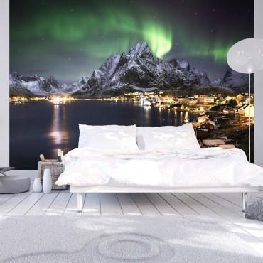 Fotomural - Aurora borealis