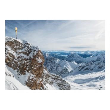 Fotomural - Monasterio en las montañas