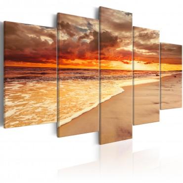 Cuadro - Sea: Beautiful Sunset