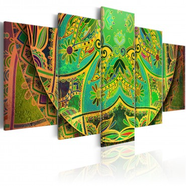 Cuadro - Mandala: Green Energy