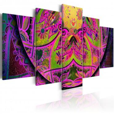 Cuadro - Mandala: Pink Power