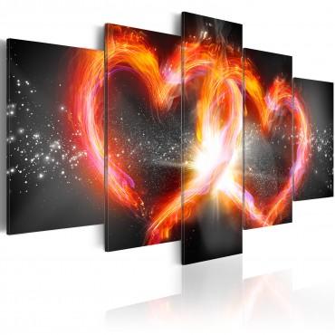 Cuadro - Llama de amor