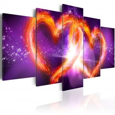 Cuadro - Llamas del amor