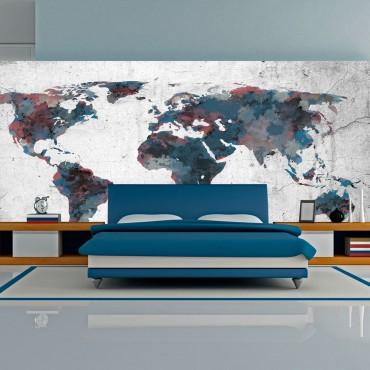 Fotomural XXL - World map...