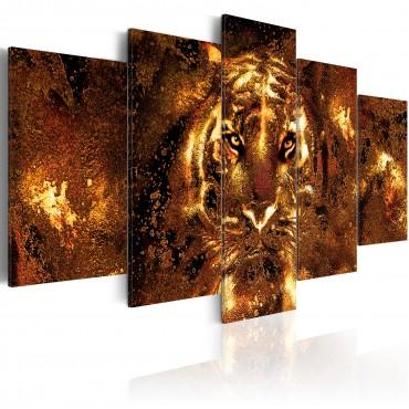 Cuadro - Golden Tiger