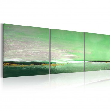 Cuadro pintado - Mar-Costa...