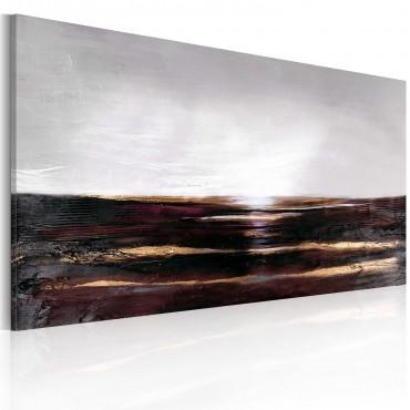 Cuadro pintado - Océano negro