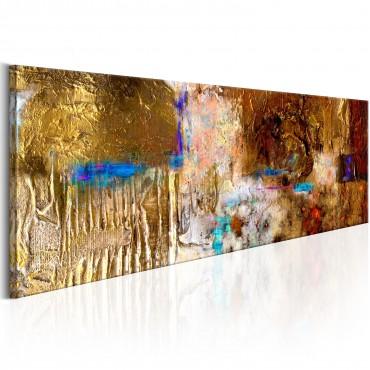Cuadro pintado - Golden...