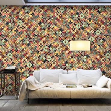 Fotomural XXL - Rainbow Mosaic