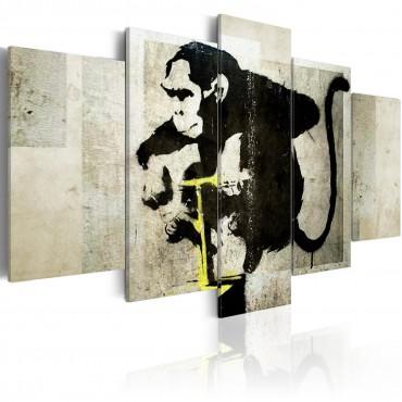 Cuadro - Monkey TNT...
