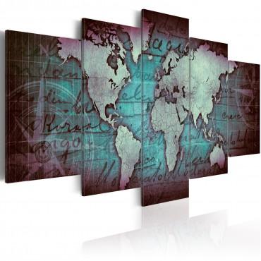 Cuadro - Sapphire Map