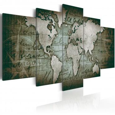 Cuadro - Emerald Map
