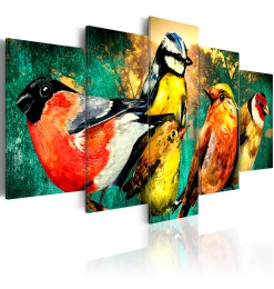 Cuadro - Birds Meeting
