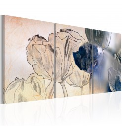 Cuadro - Sketch of Tulips