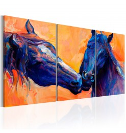 Cuadro - Blue Horses