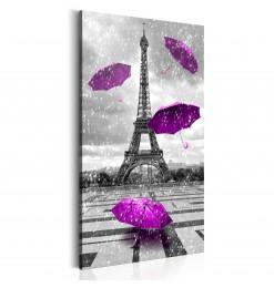 Cuadro - Paris: Purple...