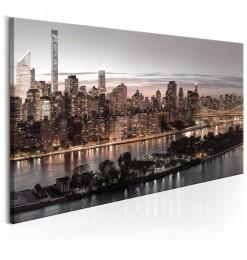 Fotomural - EE.UU., Nueva York: blanco y negro
