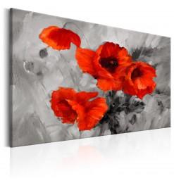 Cuadro - Steel Poppies