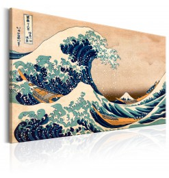 Cuadro - The Great Wave off...
