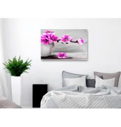 Fotomural - Tulips fine art - black and white
