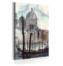 Cuadro - Venecia en acuarela
