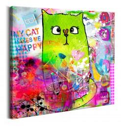 Cuadro - Crazy Cat
