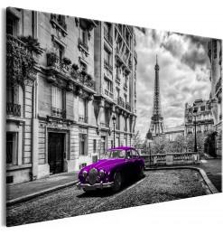 Cuadro - Car in Paris (1...