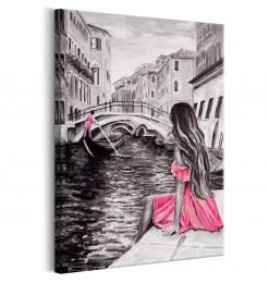 Cuadro - Woman in Venice (1...