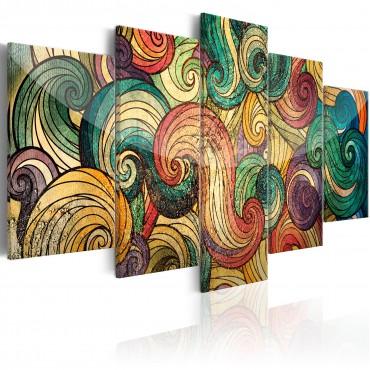 Cuadro - Colourful Waves