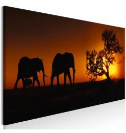 Cuadro - Elephant Family...