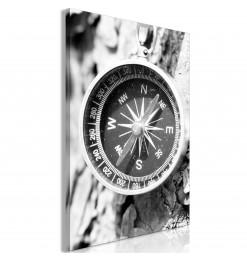 Fotomural XXL - Letras de madera