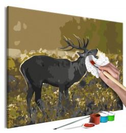 Cuadro para colorear - Deer...