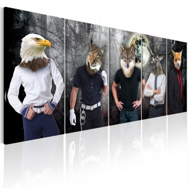 Cuadro - Animal Faces