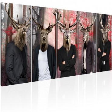 Cuadro - People in Masks