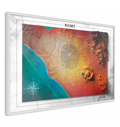 Póster - Raised Relief Map:...