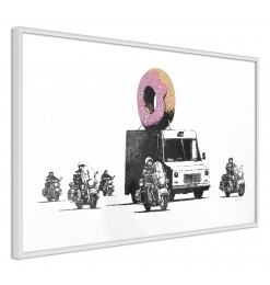Póster - Banksy: Donuts...