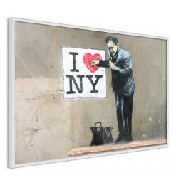 Póster - Banksy: I Heart NY